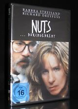 DVD NUTS - DURCHGEDREHT - BARBARA STREISAND + RICHARD DREYFUSS *** NEU ***