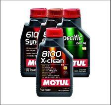 1 Litro 1ltr. Motul 8100 X-CLEAN ACEITE DE MOTOR 5w-40 totalmente sintético