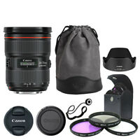 Canon EF 24-70mm f/2.8L II USM Standard Zoom Lens + Deluxe Accessory Kit
