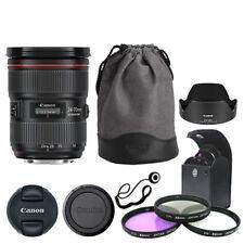 Canon EF 24-70 mm f/2.8L Lente Zoom Estándar II USM + Kit de accesorios de lujo