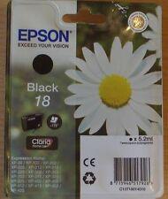 GENUINE EPSON T1801 Black cartridge vacuum sealed ORIGINAL 18 OEM DAISY ink