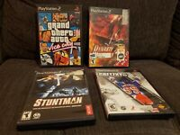 Playstation 2 PS2 Video Game lot of 4...(K)