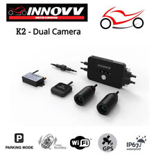 Innovv K2 Motorcycle Fitted Camera Motorbike Dual Front and Rear/Back Dash Cam