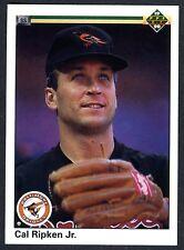 CAL RIPKEN JR~BALTIMORE ORIOLES~1990 UPPER DECK#266 PACK-FRESH MLB BASEBALL CARD