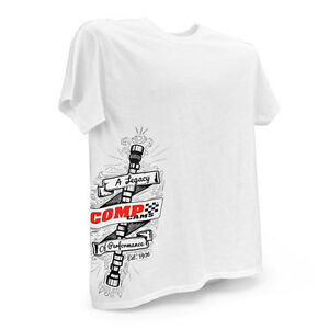 COMP Cams Logo Mens Legendary Performance Cotton T-Shirt S M L XL XXL XXXL C1040