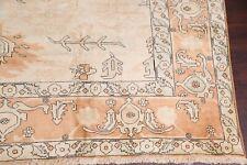 Palace New Muted Oriental Heriz Area Rug Geometric Living Room Large Wool 11x16