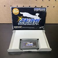 GYAKUTEN SAIBAN Gameboy Advance Nintendo gba - No Manual - Tested