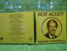 Roy Acuff Wabash Cannonball CD -Buy 2 Or More CDs Pay Only 1 Shipping Fee
