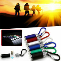 Mini LED Battery Lights Penlight Scalable Flashlight ZOOM Flexible Bright Torch