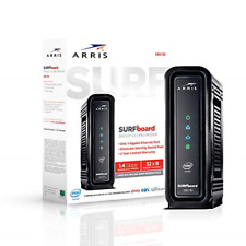 WiFi Router Cable Modem Comcast Xfinity Max Download Speed: 1.4 Gbps Black