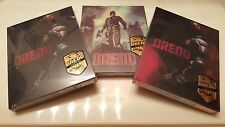 Dredd 3D Embossed STEELBOOK (Blu-ray, Korea) Tripak 1 Click Novamedia Exclusive