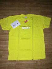 Supreme Bandana Box Logo Tee FW19 Yellow MEDIUM - IN HAND
