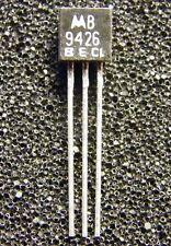 25x MPS9426B NPN HF-Transistor 18V 100mA 400MHz, Motorola