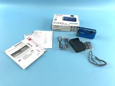New! Panasonic LUMIX Model -DMC-TS30 Blue Color WaterproofDigital Camera #OB9685