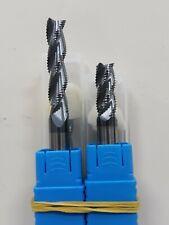 FRESA in METALLO DURO INTEGRALE VHM DIAMETRO 10 mm 3o4 TAGLI a sgrossare rivesti