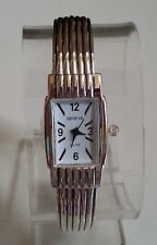 CHARMING LADIES WESTERN STYLE SILVER FINISH BANGLE CUFF FASHION WRIST WATCH