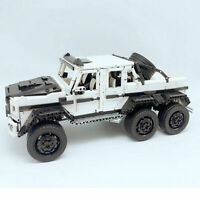 Technic MOC SERIE 6x6 Off Road SUV MERCEDES G63 AMG Building Lego Compatibile