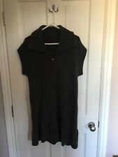 Cashmere Dress from Escada Sport In Charcoal Grey Size Small (Medium)