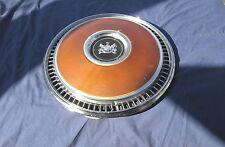"""Vintage 1977-1983 Mercury Cougar Marquis 15"""" Hubcap Hub Cap Very Good Condition"""