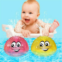 Baby Bathroom LED Light Musical Bath Toy Kids Shower Waterproof Water spray Toys