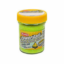 Berkley PowerBait Dough Natural Scent Garlic Chartreuse
