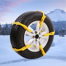 Car Snow Tire Anti-skid Chain Vehicles Truck SUV Emergency Winter Driving 1 Pc