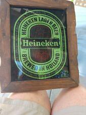 Collectible Heineken Lager Beer, glitters.
