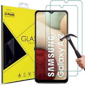 For Samsung Galaxy A02s A12 A32 A42 A52 A41 A51 Tempered Glass Screen Protector
