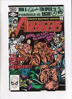 The Avengers v1 #216 Marvel 1982 VF/NM Newsstand Silver Surfer Molecule Man Thor
