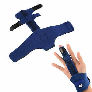 Finger Schiene Fraktur Schutz Bandage Korrektor Stütze Gürtel Schmerzlinderung