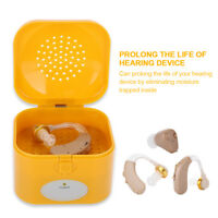 Electric Hearing Aid Dryer Hearing Assistance Dehumidifier Storage Case Box 220V