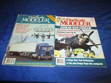 4 FineScale Modeler Magazines Summer 1983 Dec 1992 May 1995 Mar 1998 Model VG