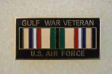 US USA USAF Air Force Gulf War Veteran Military Hat Lapel Pin