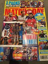 Match Of The Day MAGAZINE + Match Attax Cards (x3) 615 Nov 2020 : New