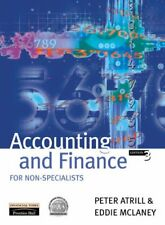 027364632X Paperback Accounting and Finance for Non-specialists Peter Atrill, Ed