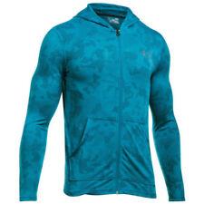 Sudaderas de hombre de manga larga en azul Under armour
