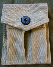 WWII M1 CARBINE RIFLE & .45 PISTOL AMMO COMBO POUCH-OD#3