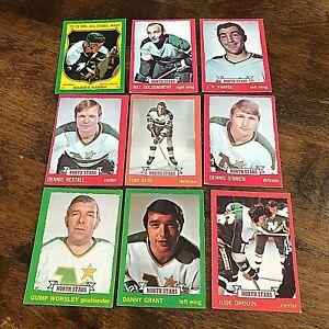 1973-74 O-PEE-CHEE  MINNESOTA NORTH STARS 15 card TEAM  SET