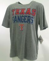 Texas Rangers Official MLB Genuine Kids Youth Size Athletic Shirt New with Tags