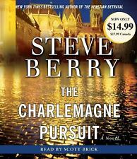 STEVE BERRY ) THE CHARLEMAGNE PURSUIT    (2008, ABRIDGED CD's, in BOX