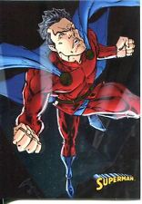 DC Superman The Legend Parallel Foil Base Card #54