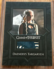 Game of Thrones Valyrian Steel relic card VR2 Daenerys Targaryen Blue Dress