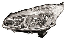 peugeot 208 2012 to 2015 headlight with drl nearside l/h