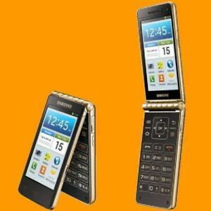 Original Samsung Galaxy Golden GT-I9235 Cellphone LTE 8MP Android Flip Phone
