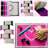 Nail Art Table Mat Cute Point Lace Silicone Foldable Manicure Nail Beauty Tool