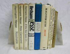 Hermann Hesse Magister Ludi Gertrude Rosshalde Siddhartha Book Lot of 9