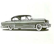 1953 DeSoto Firedome 4-Door Official 8x10 Original Photo