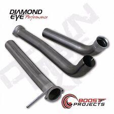"Diamond Eye Off-road Downpipe Kit 3.5"" T409 Stainless Steel 166004"