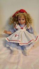 Danbury Mint 18'' Jill Porcelain Baby Girl Doll by Susan Wakeen