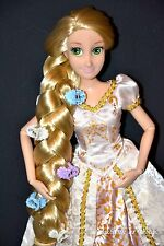 CLASSIC Disney Store Rapunzel Tangled Ever After Wedding Doll BRIDE Barbie